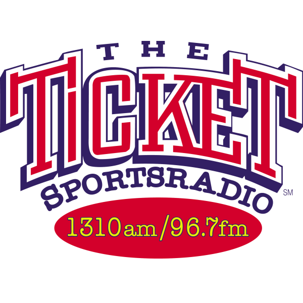 The Ticket Sportsradio 1310 AM / 96.7 FM Logo