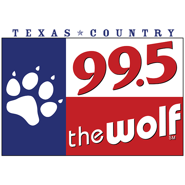 99.5 The Wolf Logo